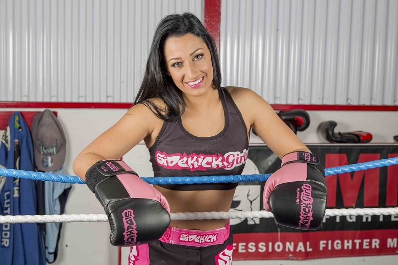 Ring Girl and Cheerleader Kristie Raby