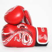 Cobra Series Boxing Gloves Red