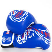 Cobra Series Boxing Gloves Blue