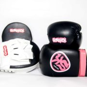 Ladies Pink Boxing Set