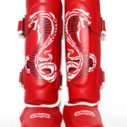 Cobra Series Shin Pads Red