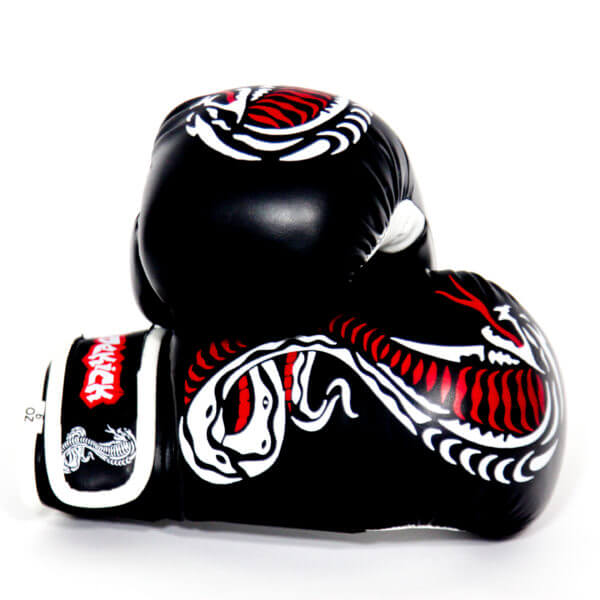 Kids Cobra Series Boxing Gloves Black