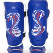 Kids Cobra Series Shin Insteps Blue