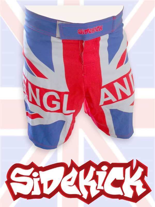 UK Flag MMA Shorts