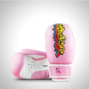 Graffiti 6oz Pink Boxing Gloves