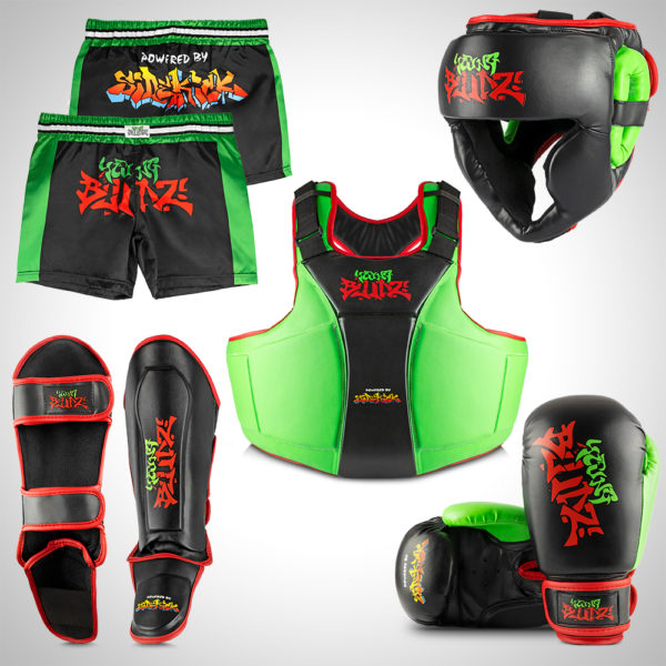 Young Bludz Kids Kickboxing Fighter Set