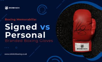 Signed vs Personal Branded Boxing Gloves